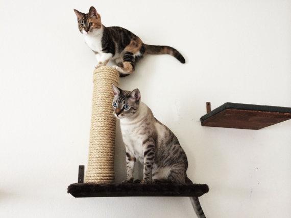 Burlap Cat Scratcher