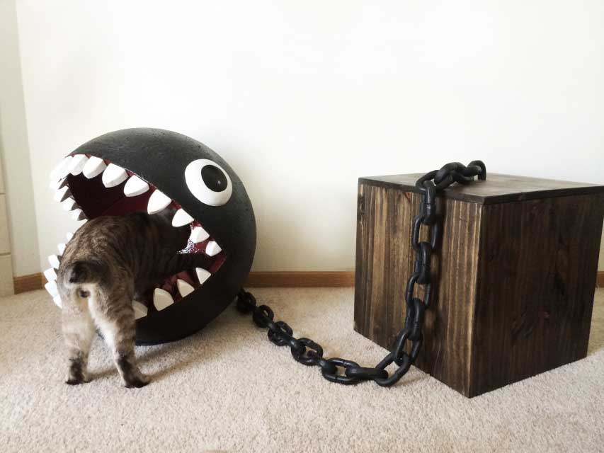 Chain Chomp Cat Bed Catastrophic Creations