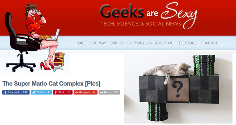 catastrophic creations on geeks are sexy