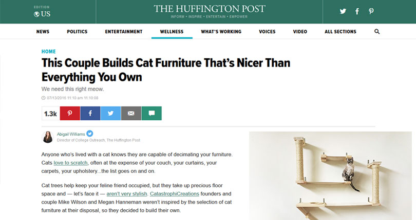 catastrophic creations on the huffington post